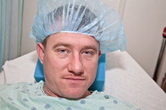 Man in Hospital Royalty Free Stock Photography