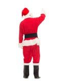 Man i dräkt av Santa Claus arkivbild