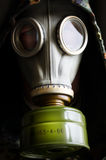 Man i gasmask Royaltyfri Fotografi