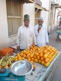 Man i Junagadh/Indien Royaltyfria Bilder