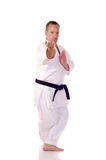Karateka Royaltyfria Bilder