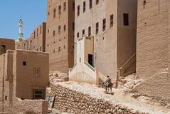 Man i Yemen Arkivfoto
