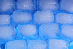 Man ice wall Stock Photography