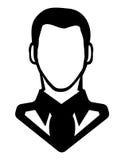 Man icon - avatar Royalty Free Stock Image