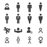 Man icon Royalty Free Stock Images
