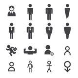 Man icon vector illustration
