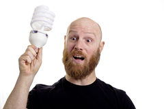 Man with an idea Royalty Free Stock Photography