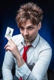 Man illusionist Stock Images
