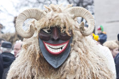 Man In Mask And Costume Royalty Free Stock Image