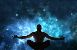 Free Man In Meditation Royalty Free Stock Image - 96154226