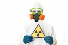 Free Man In Protective Suit Royalty Free Stock Photo - 18919805