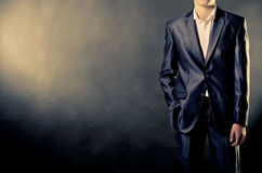 Man In Suit Stock Image