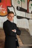 Man In Suit Stock Photo