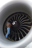 Man In Turbine Royalty Free Stock Photography