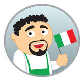 Man from Italy. See more  nationalities in my portfolio Stock Image