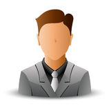 Man in jacket Stock Photography