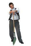 Man in jacket Stock Image