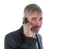 Man with phone Stock Photos