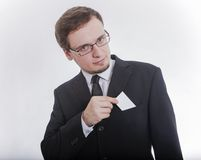 Man in jacket Royalty Free Stock Photography