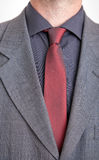 Man in jacket, shirt and tie Royalty Free Stock Photos
