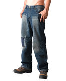 A man with jeans Stock Image
