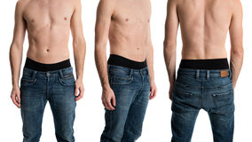 Man in Jeans Royalty Free Stock Photography