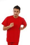 Man jogging Stock Image