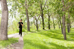 Man jogging Royalty Free Stock Image