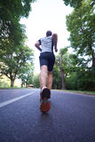 Man Jogging Stock Image