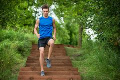 Man Jogging Royalty Free Stock Photo
