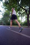 Man jogging Royalty Free Stock Photo