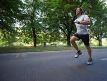 Man jogging Royalty Free Stock Images