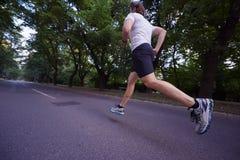 Man jogging Stock Photos