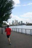 Man jogging in London Royalty Free Stock Photos