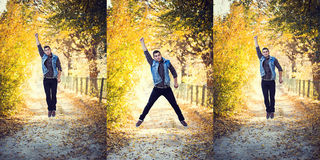 Man jump Stock Photography