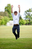 Man jumping Royalty Free Stock Images