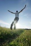 Man jumping Royalty Free Stock Photo