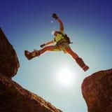 Man jumping Royalty Free Stock Photos