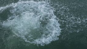 Man jumps in the lake.  stock footage