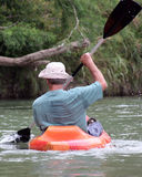 Man in Kayak Stock Photo