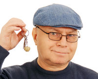 Man with the keys. Royalty Free Stock Photography