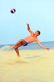 Beach Soccer Stock Photography