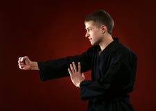 Man in kimono Royalty Free Stock Image