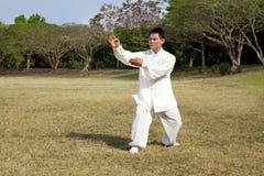 Man in a kung fu Stock Photos