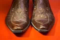 Man laarzen Stock Foto's