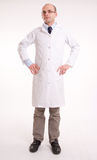Man in lab coat Royalty Free Stock Photo