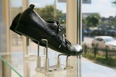 Man lage schoenen Stock Foto