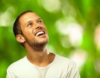 Man laughing Stock Image
