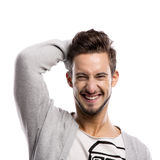 Man laughing Royalty Free Stock Photography