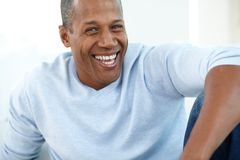 Man laughing Royalty Free Stock Photos